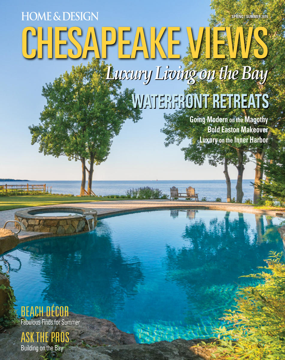Chesapeake Views | Annapolis MD | Client: Cynthia Schiffrin, architect