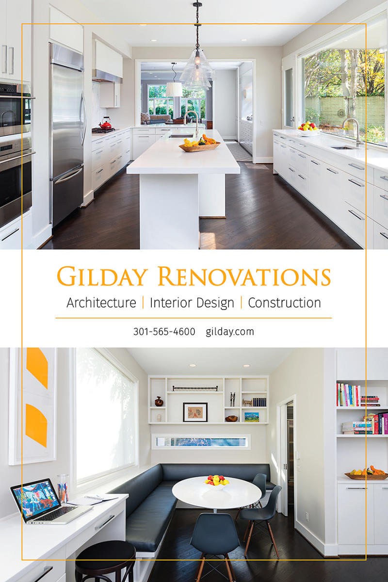 Gilday Renovations Home & Design ad