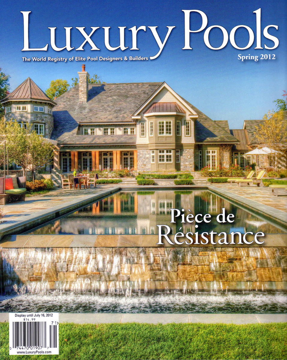 Luxury Pools - Cover Story