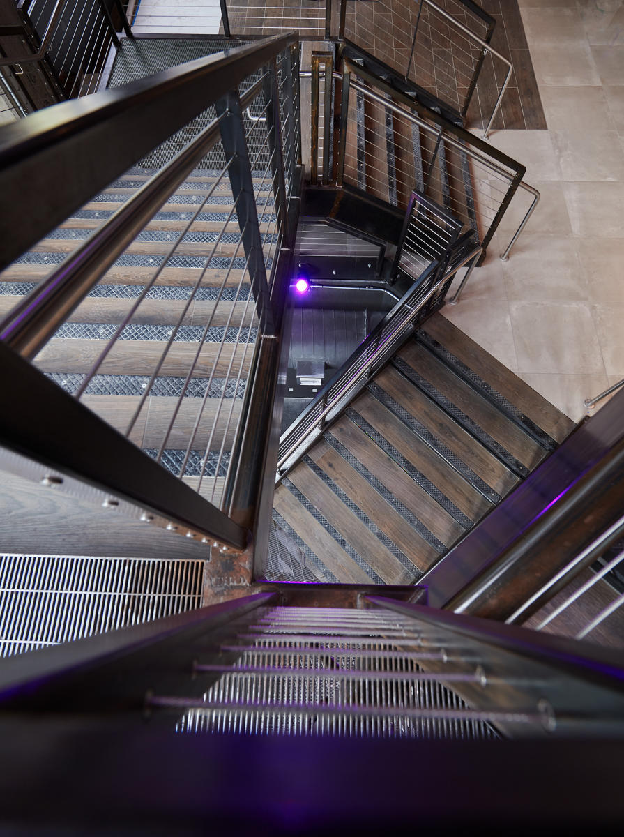 Client: Miscellaneous Metals | Project: VIDA Fitness Staircase