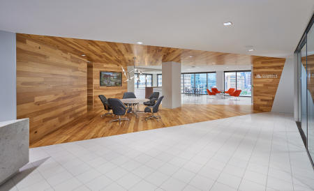 Architect: Design Collective   |   Project: Cushman Wakefield