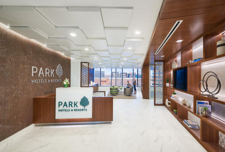 Architect: OPX   |   Project: Park Hotels Corporate Office
