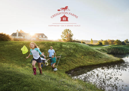 Creighton Farms Sales Brochure - Cover Photo: ©Erin Kunkel
