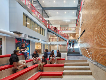 Architect: STUDIOS  |  Project: MacFarland Middle School