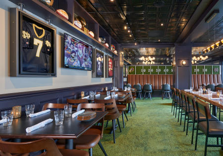 Client: Dambly Design   |   Project: Theismann's Restaurant