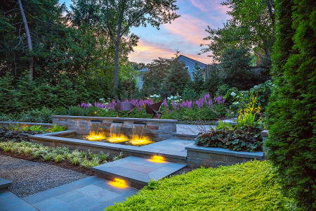 Landscape Architect: Jennifer Horn Landscape Architecture  |  Architect: Cunningham Quill Architects